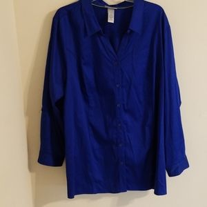 Catherines Plus Button-Down Shirt NWT